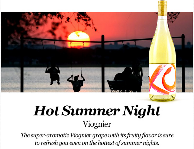 Viognier: a refreshing summer wine