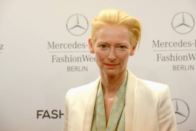 Actress Tilda Swinton.