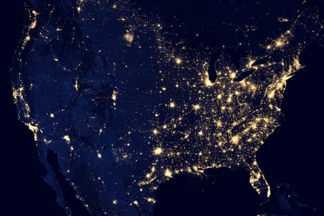 NASA Earth Observatory/NOAA NGDC