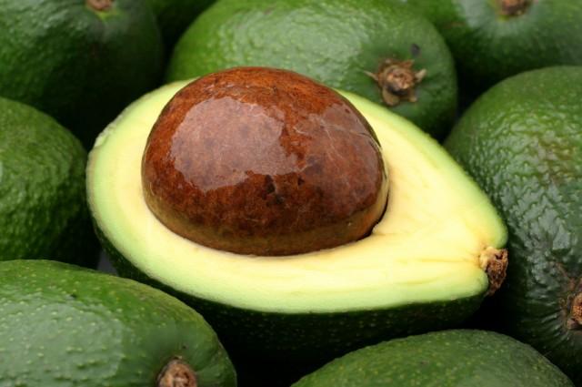 cut up avocado