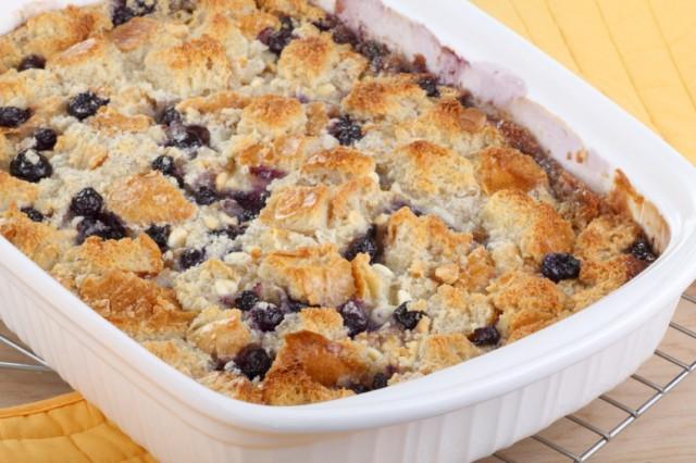 Blueberry oatmeal bread