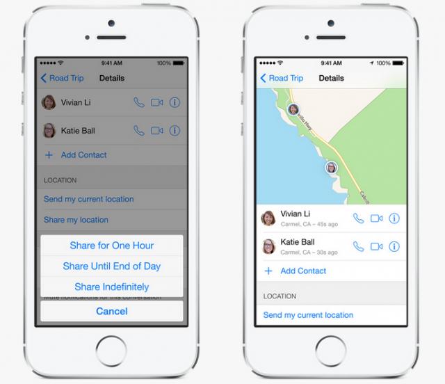 iOS 8 Messaging