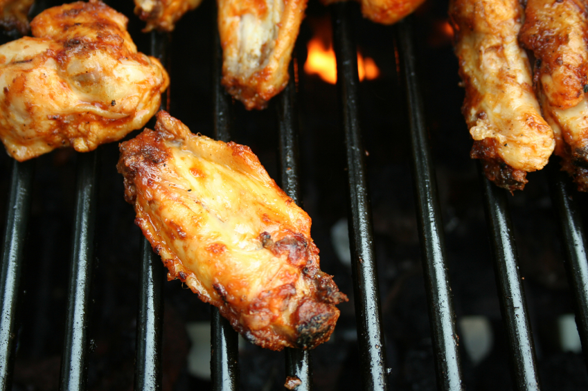 Herbed chicken wings