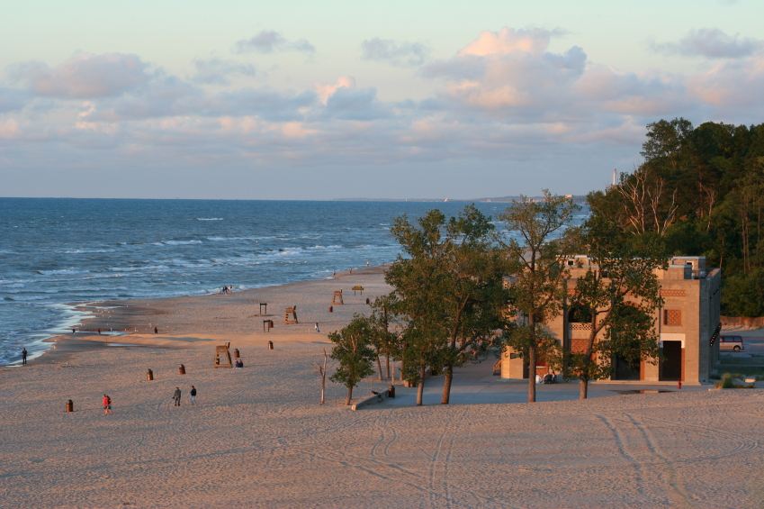 Indiana Dunes, Lake Michigan