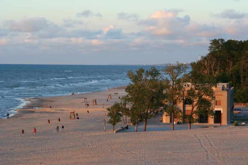 Indiana Dunes, Lake Michigan
