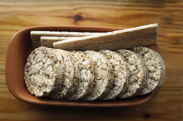 Rice cakes are not a good diet food for weight loss