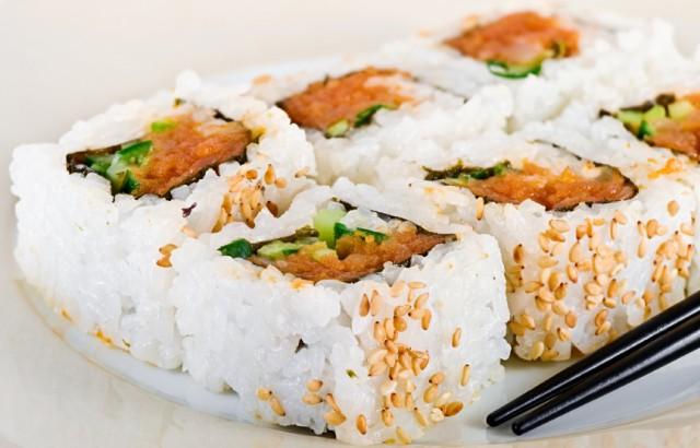 Spicy tuna rolls