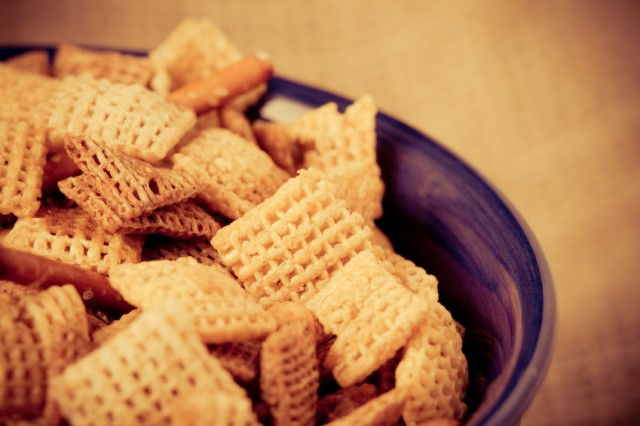 cereal, chex mix