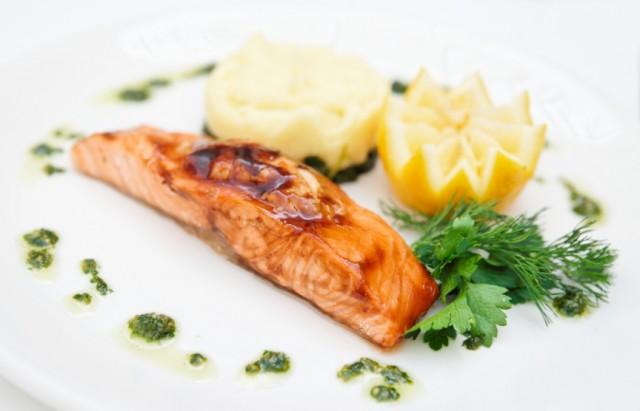 Miso-Glazed Toaster Oven Salmon