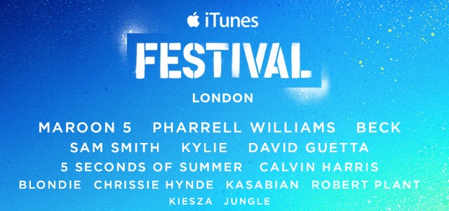 Source: Apple (itunesfestival.com)
