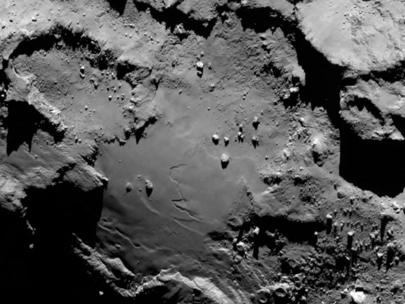 ESA/Rosetta/MPS for OSIRIS Team MPS/UPD/LAM/IAA/SSO/INTA/UPM/DASP/IDA/Getty Images