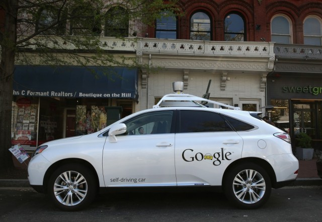 Google Lexus RX 450H Self-Driving Car