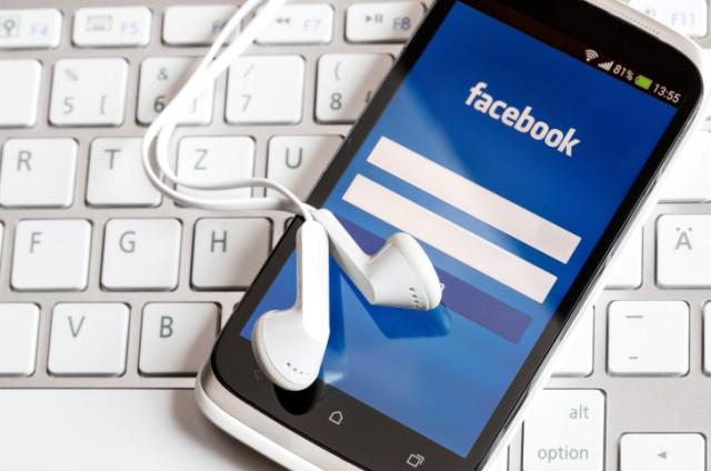 facebook on phone