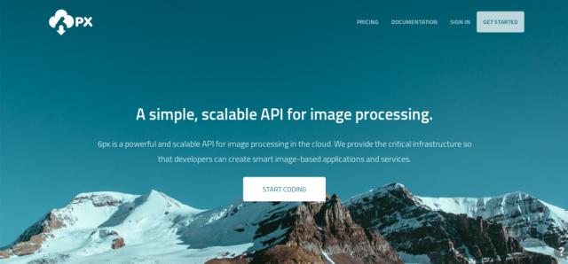 6px image processing API