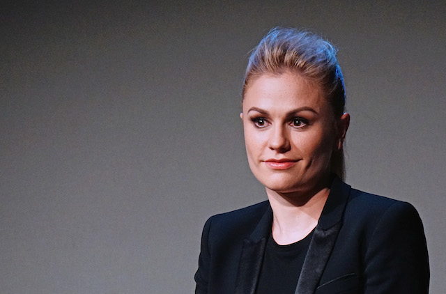Actress Anna Paquin attends 'Meet The Cast' on July 15, 2014 in New York, United States.