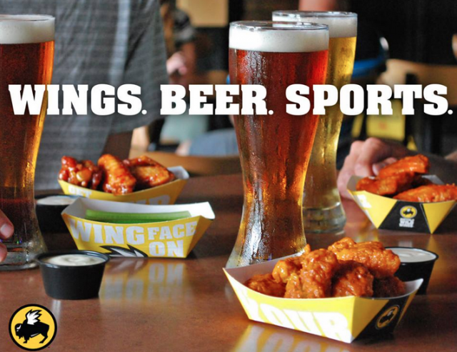 Source: Buffalo Wild Wings Facebook