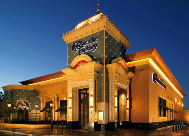 Source: Cheesecake Factory