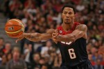 Derrick Rose Returned to the United Center as Team USA Trounced Brazil