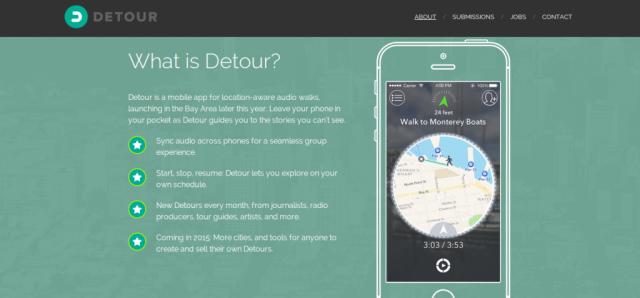 Detour app