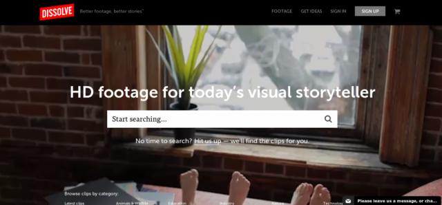 Dissolve HD stock video footage