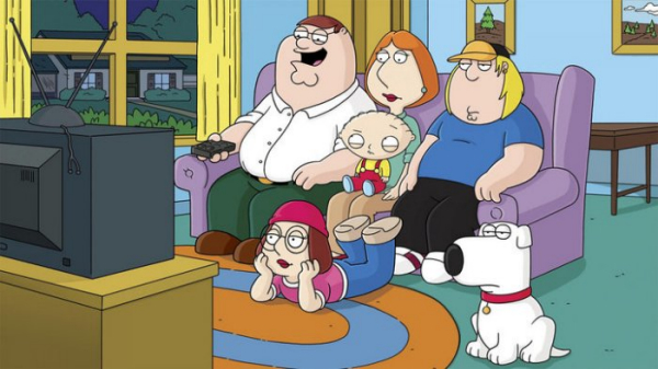 Scene from Family Guy