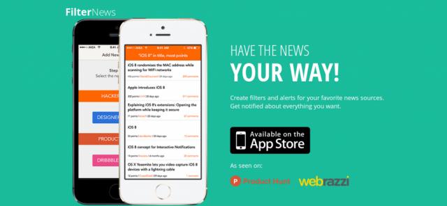Filter News app