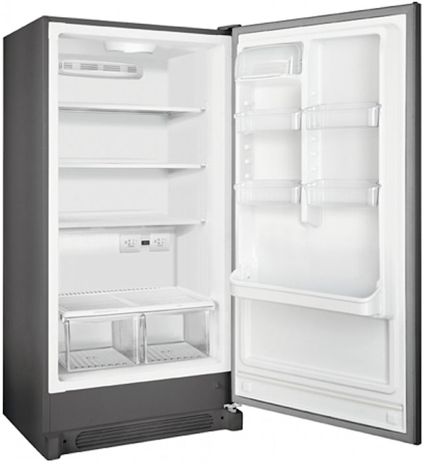 Frigidaire Classic Slate 2-In-1 Convertible Upright Freezer Or Refrigerator