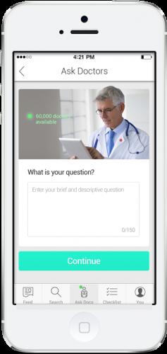 HealthTap Prime iOS app