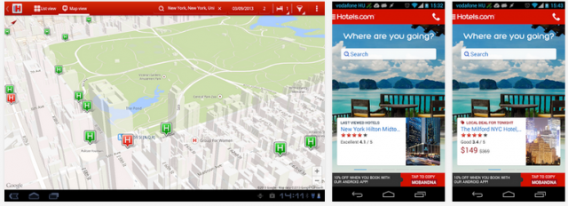 Hotels.com app (Android)
