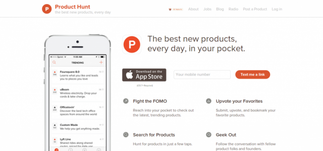 Product Hunt for iOS