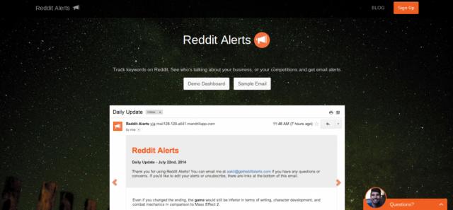 Reddit Alerts