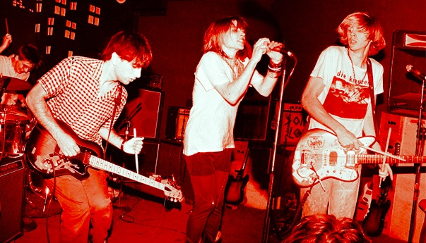 The band Sonic Youth.