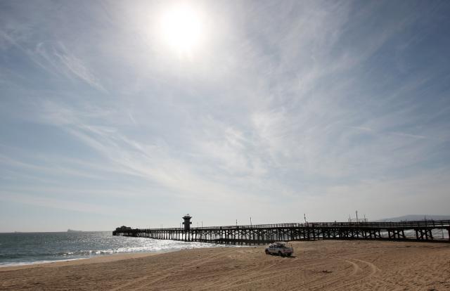 Orange County beach