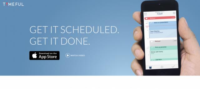 Timeful iOS app