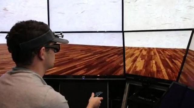 VE-HuNT System virtual reality University of California San Diego