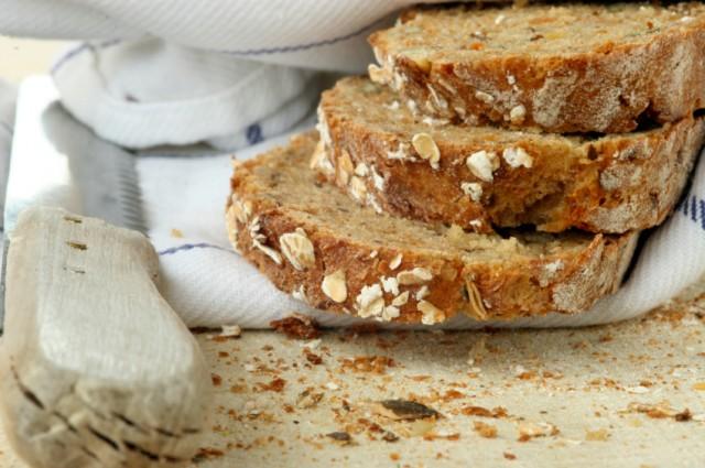 Oatmeal whole wheat quick bread