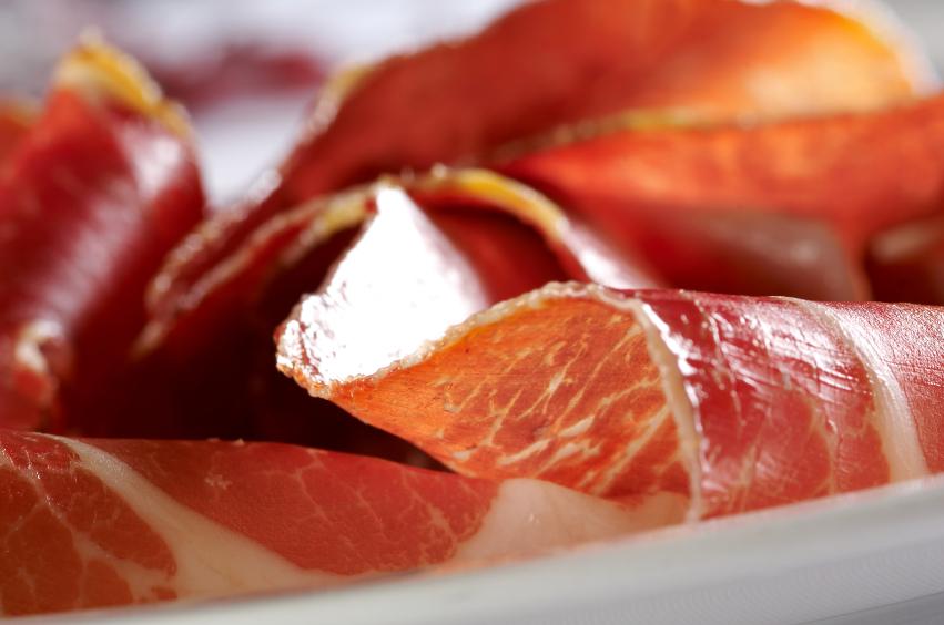 prosciutto, meat