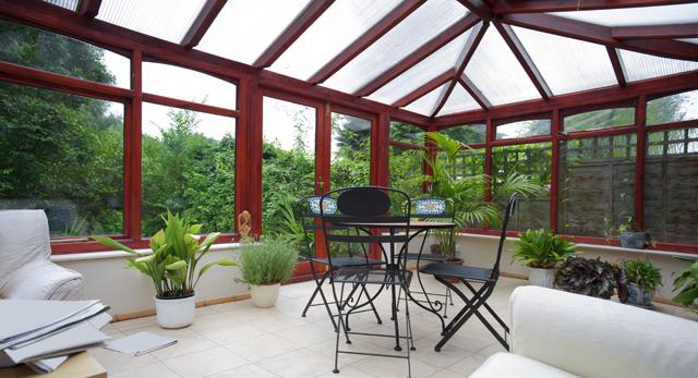 Sunroom home addition