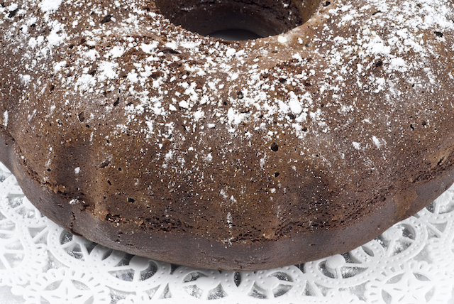 Make chocolate cake using boxed muffin mix