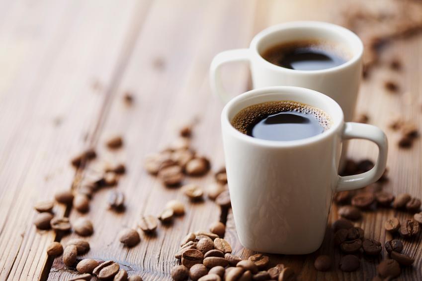 two coffee mugs