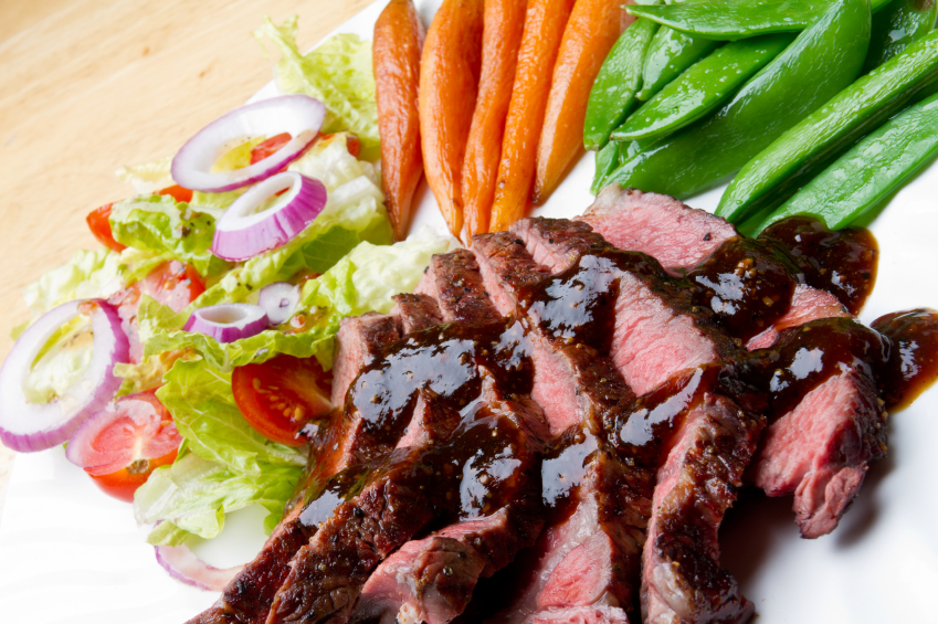 lean beef with vegetables