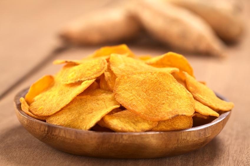 sweet potato chips