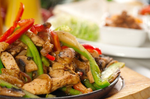 Chicken Fajita, bell peppers