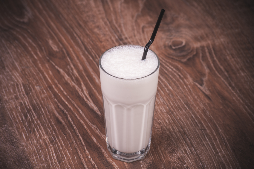 A shake -- an underwhelming meal replacement