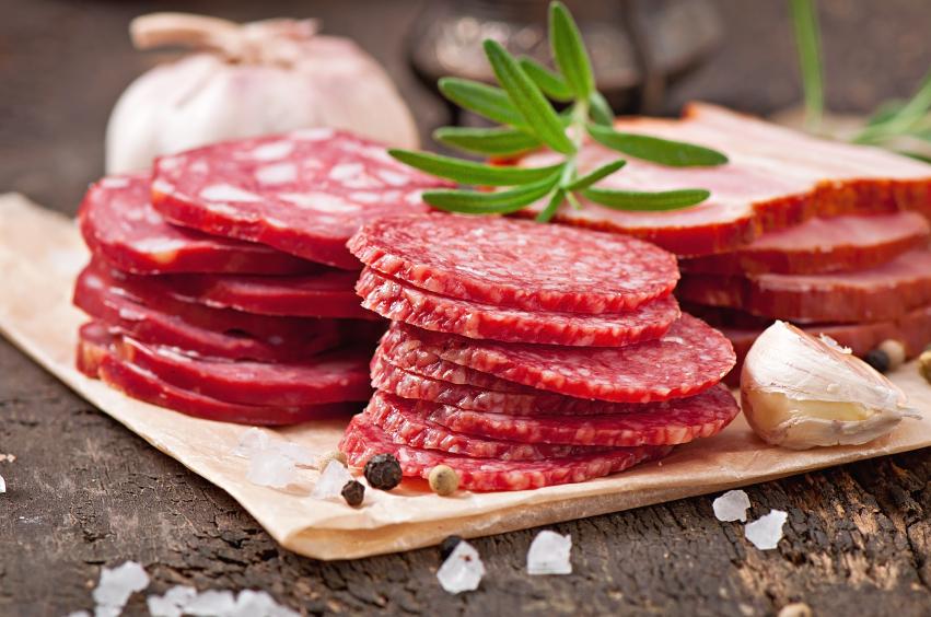 Assorted deli meat