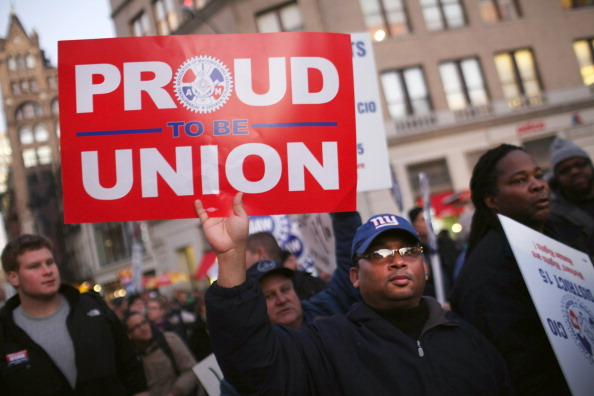 proud to be union sign