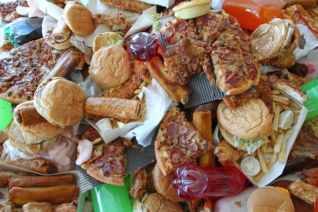If you stop eating junk food, it can lead to clear skin