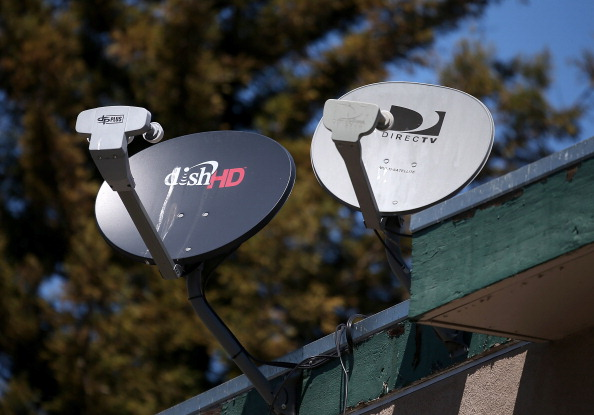 dish and direcTV satellites
