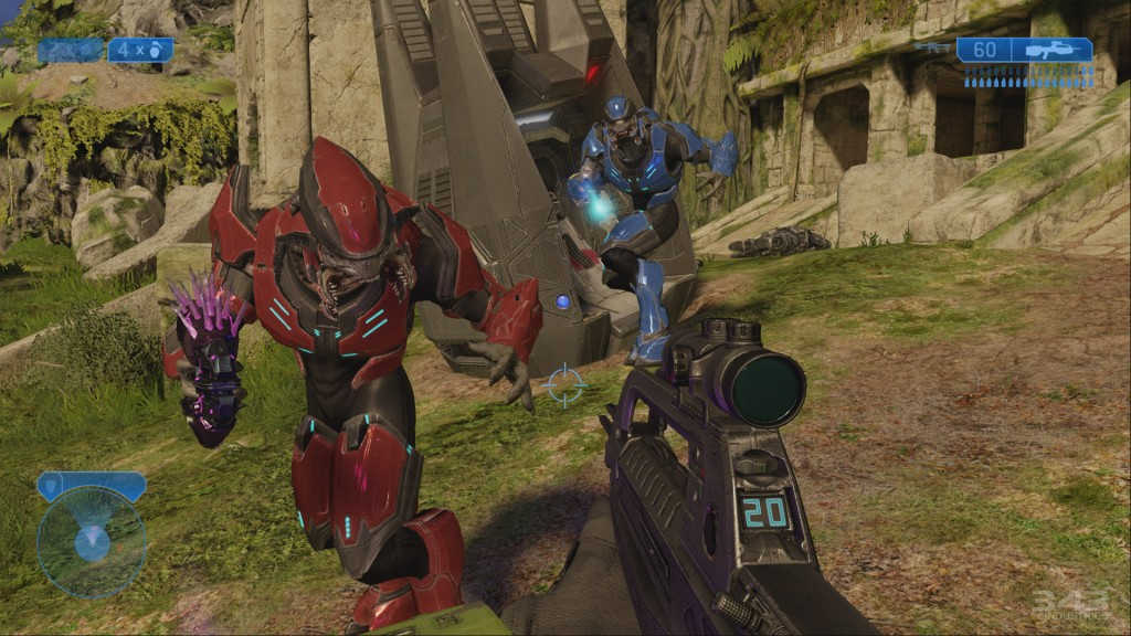 Halo 2 Anniversary Edition screenshot.