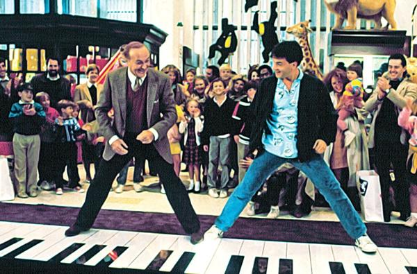 tom hanks big piano